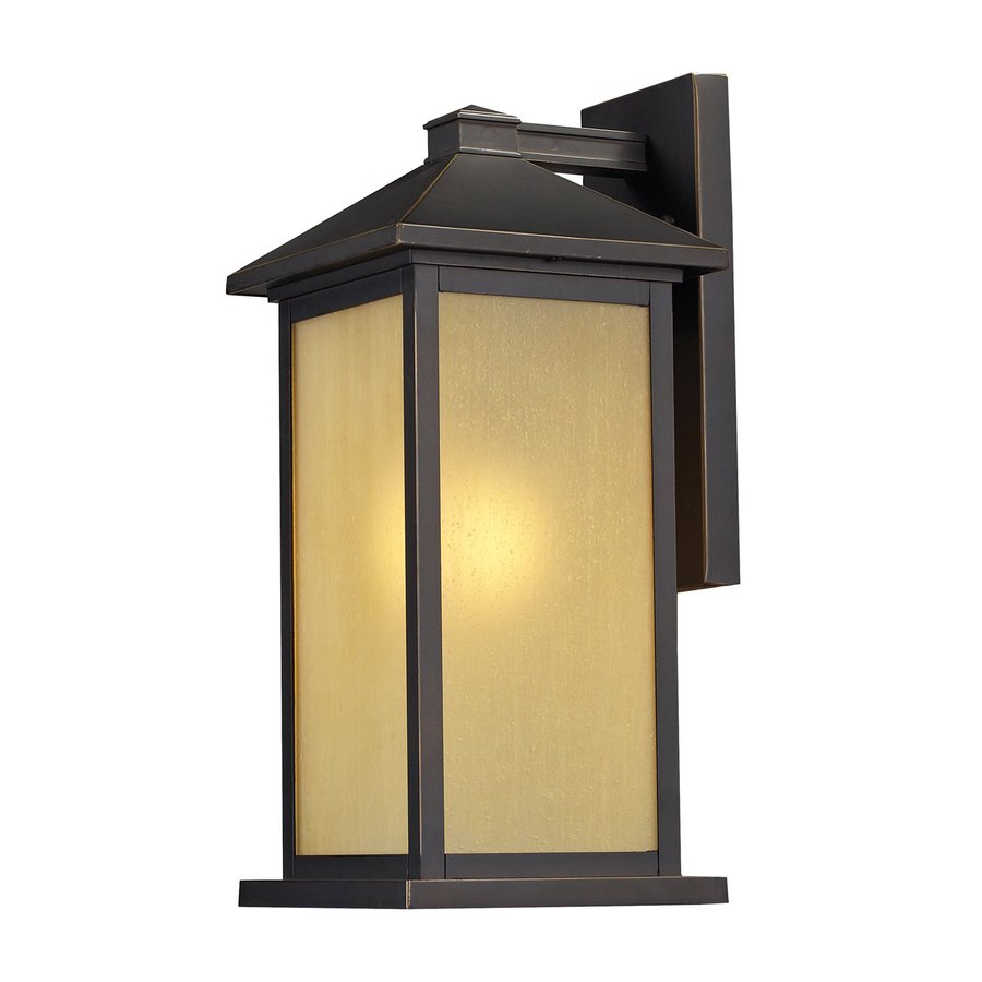 Z-Lite Vienna 22-in H Oil-Rubbed Bronze Outdoor Wall Light