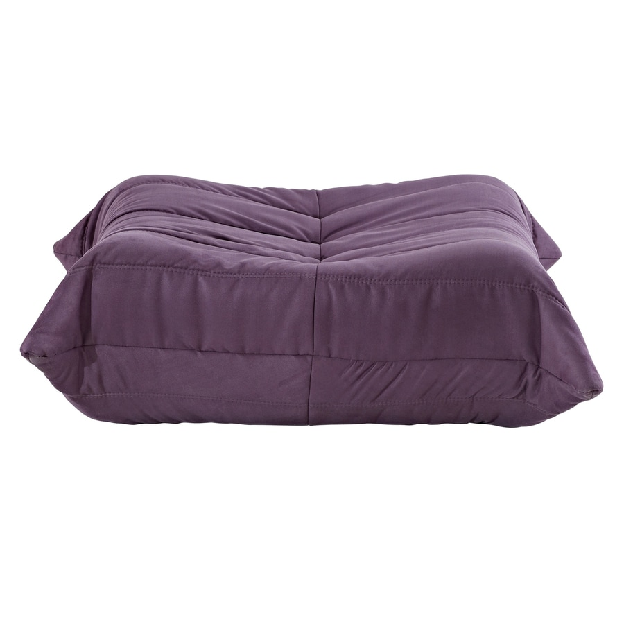 Modway Waverunner Wave Purple Rectangle Ottoman
