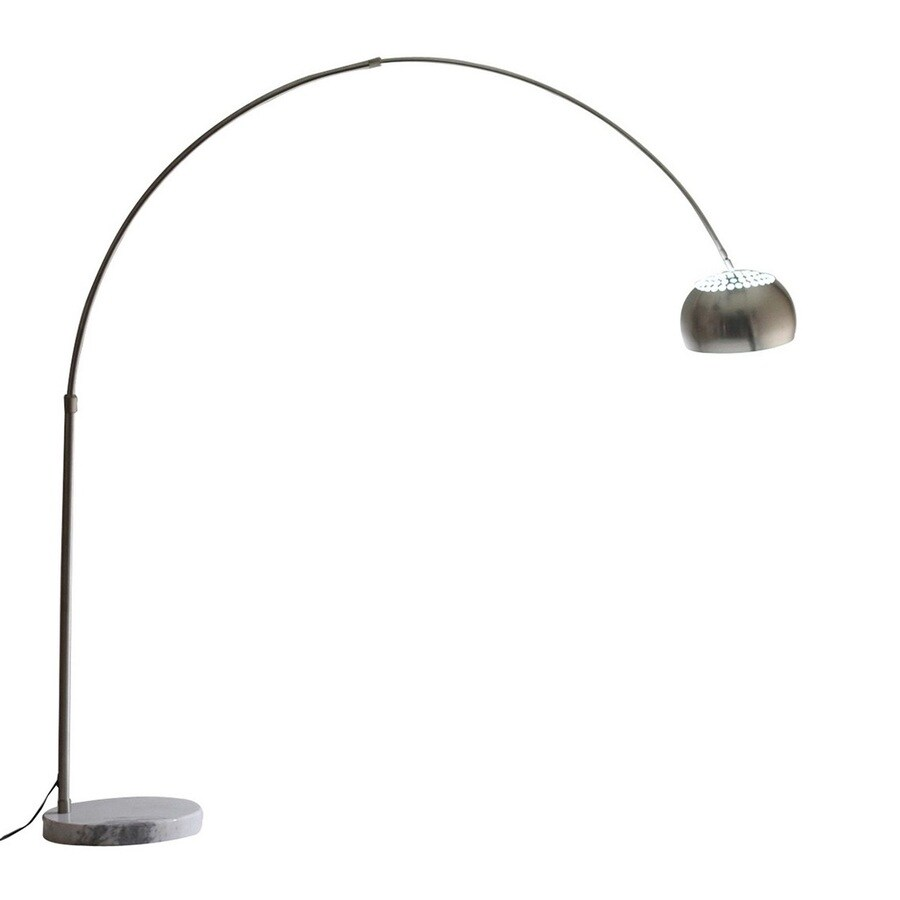 Modway Sunflower 81-in White Downbridge Floor Lamp with Metal Shade