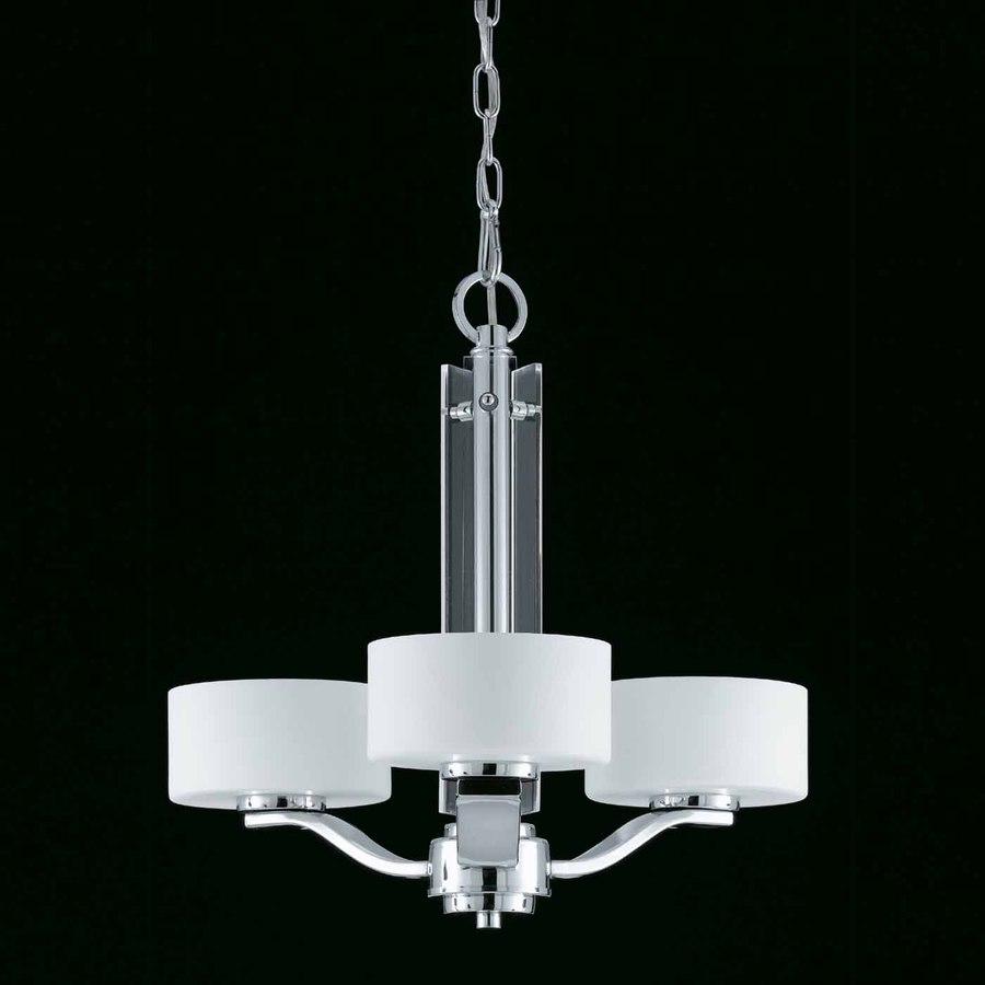 Shop triarch international solstice 3 light chrome chandelier at triarch international solstice 3 light chrome chandelier arubaitofo Gallery