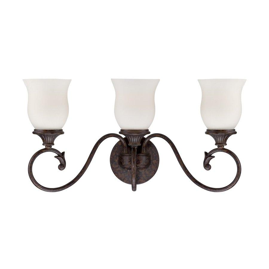 Designer's Fountain Helena 3-Light Burnt Umber Bell Vanity Light