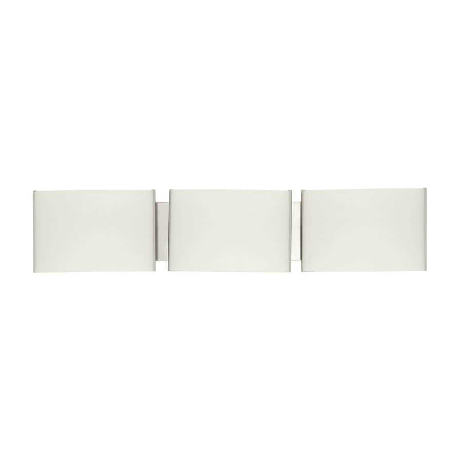 DVI Mega Vanguard 3-Light Satin Nickel Vanity Light