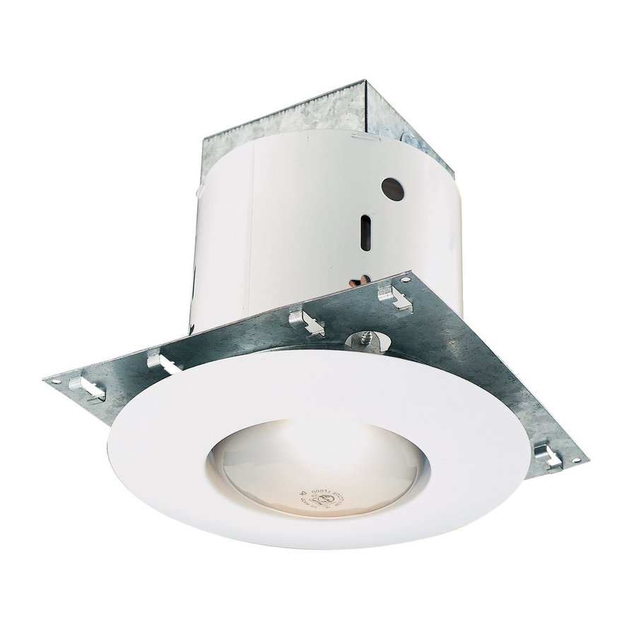 Thomas Lighting White Remodel Recessed Light Kit