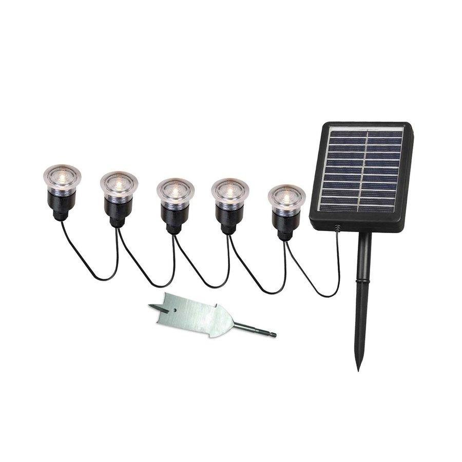 Kenroy Home 5 Light Black 0 1 Watt Led Path Kit