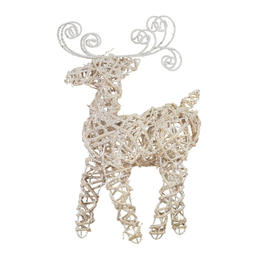 oddity 2 pack tabletop figurine reindeer indoor christmas decoration