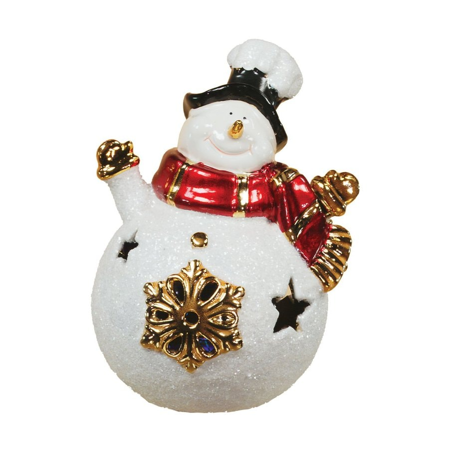 oddity 4 piece freestanding led lights snowman indoor christmas decoration - Free Standing Christmas Decorations
