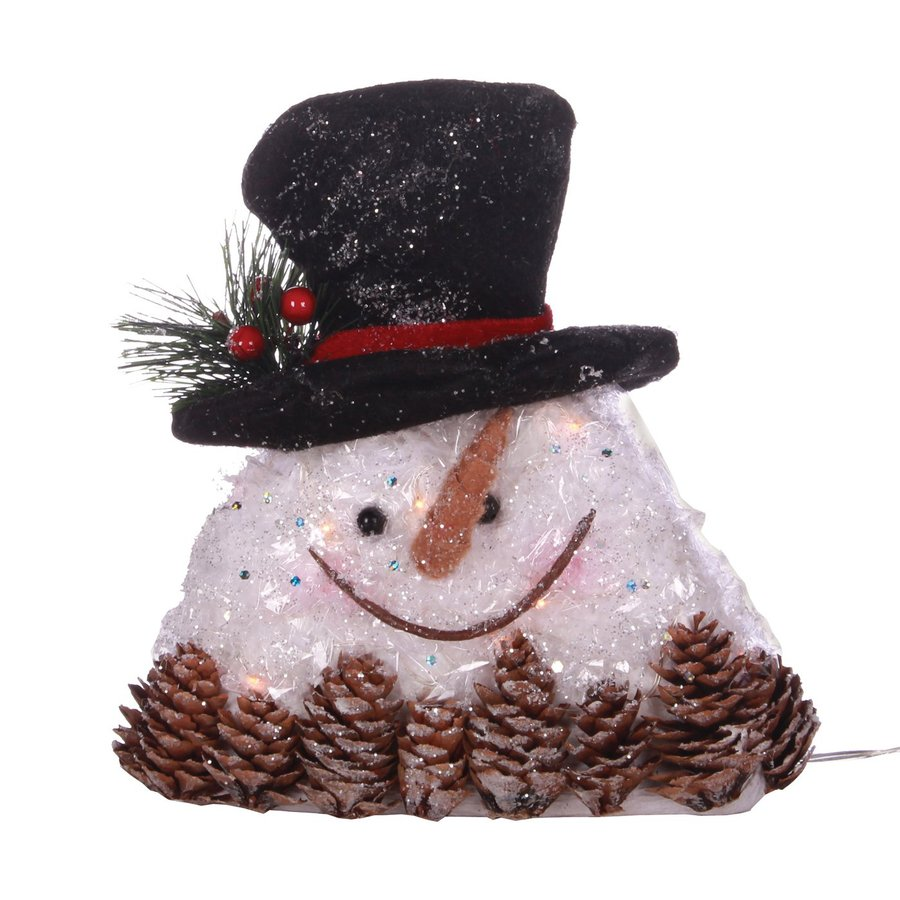 oddity lighted tabletop figurine snowman indoor christmas decoration - Indoor Snowman Christmas Decorations