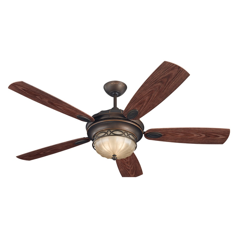 Shop Monte Carlo Fan Company Edwardian 56 In Roman Bronze
