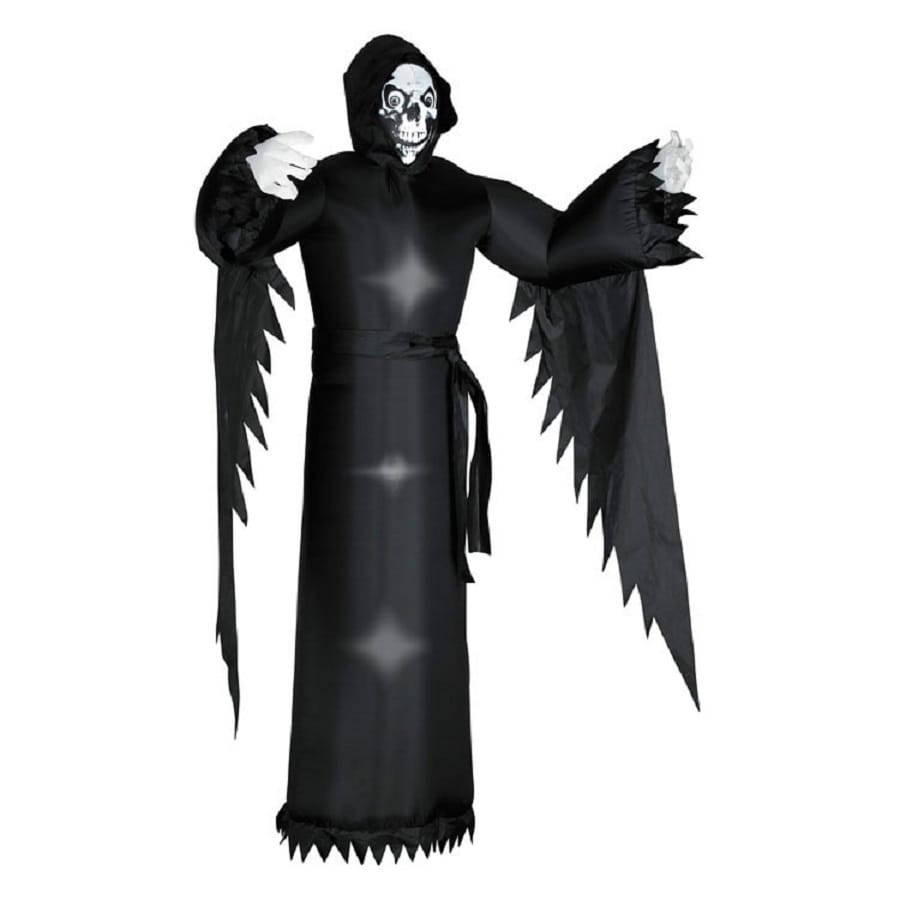 6 ft internal light grim reaper halloween inflatable - Lowes Halloween Inflatables