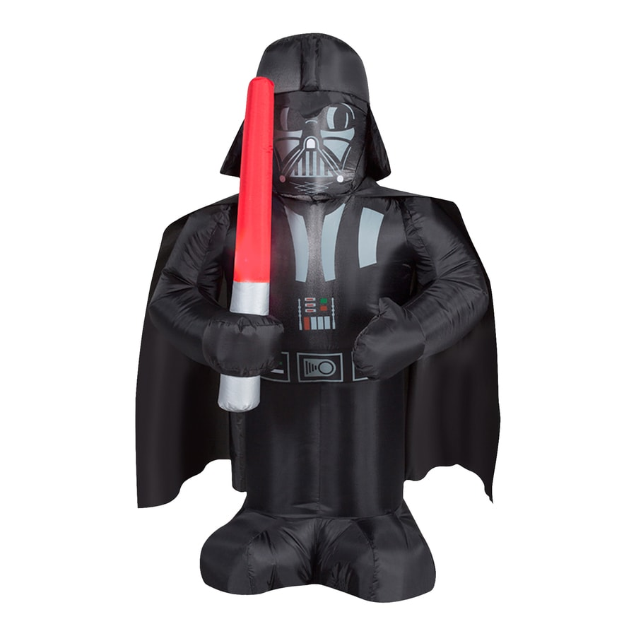 3-ft 6-in x 1-ft 8.8-in Lighted Star Wars Darth Vader Christmas Inflatable