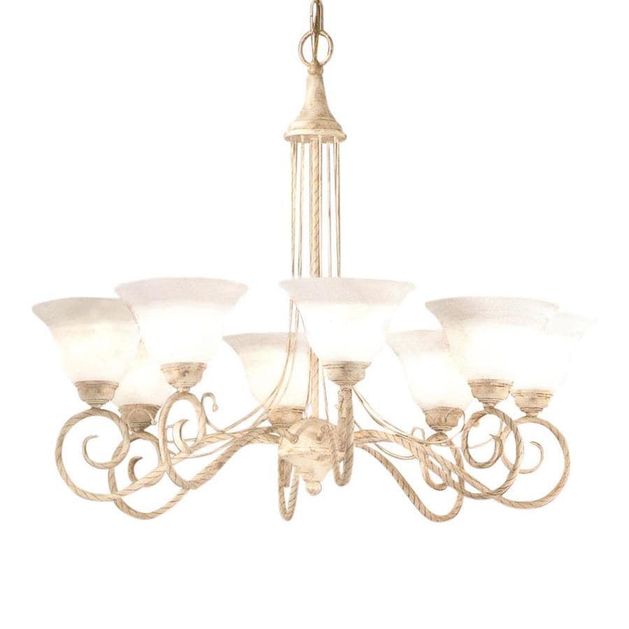 Classic Lighting Torino 8-Light Ivory Gold Chandelier