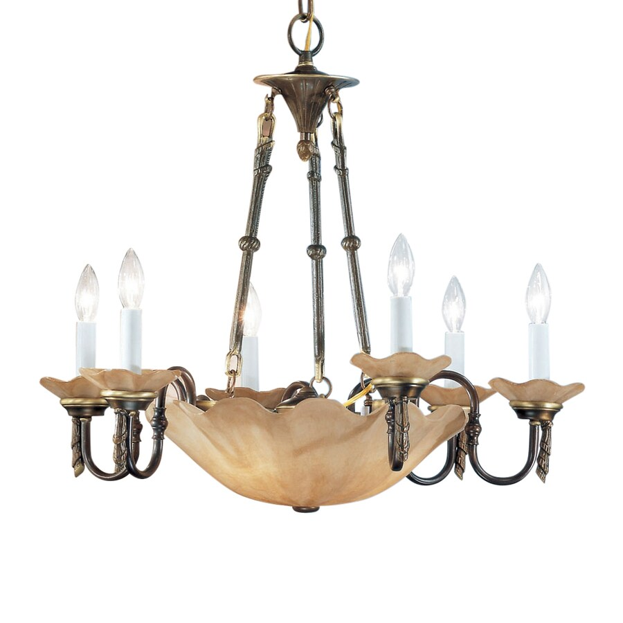 Shop classic lighting atlantis 27 in 9 light matte bronze vintage classic lighting atlantis 27 in 9 light matte bronze vintage tinted glass candle chandelier arubaitofo Choice Image