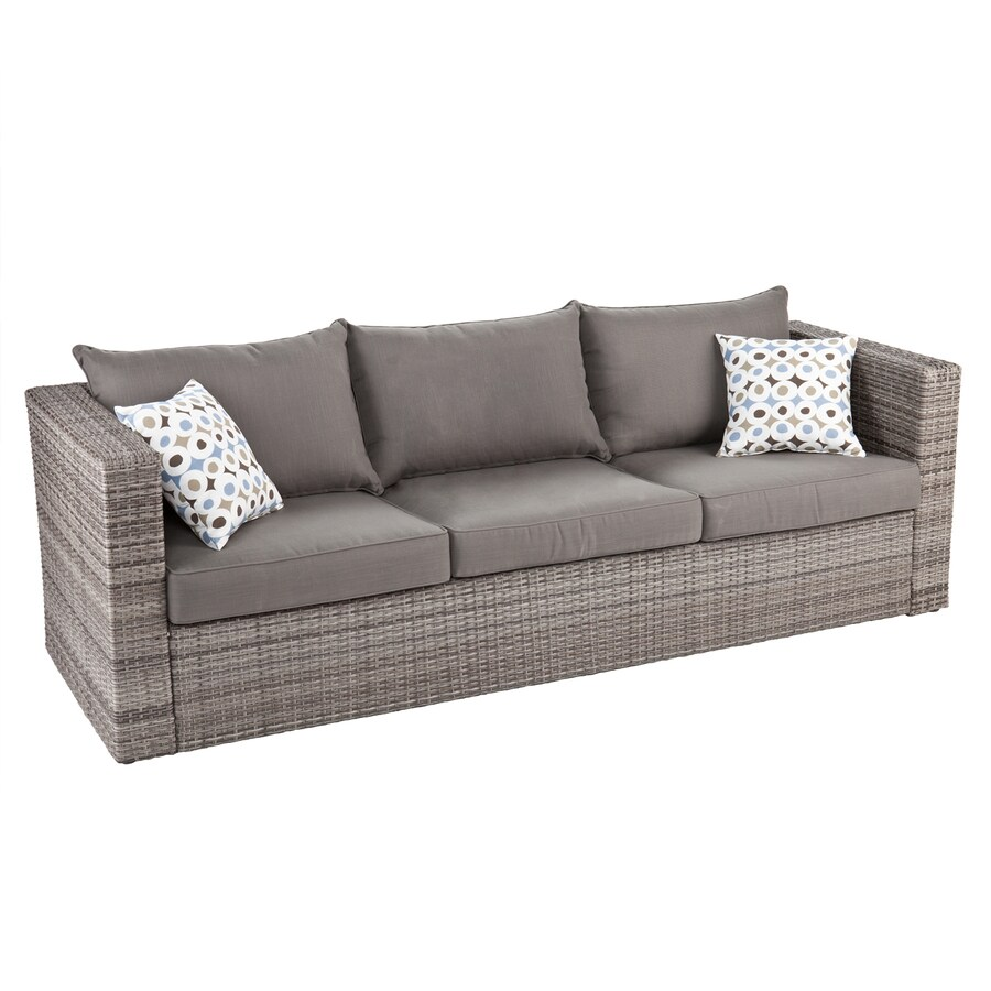 Boston Loft Furnishings Terra Solid Wicker Sofa