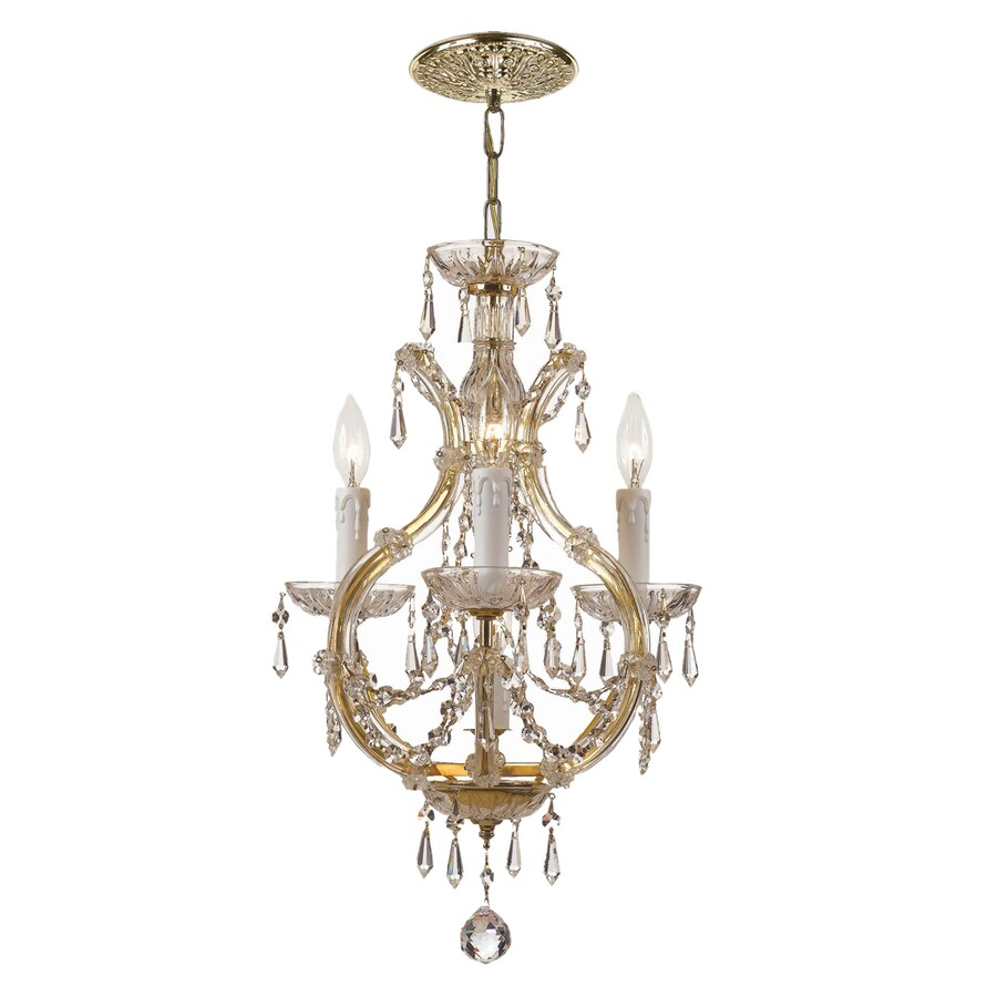 Shop Cascadia Lighting Maria Theresa 4 Light Gold