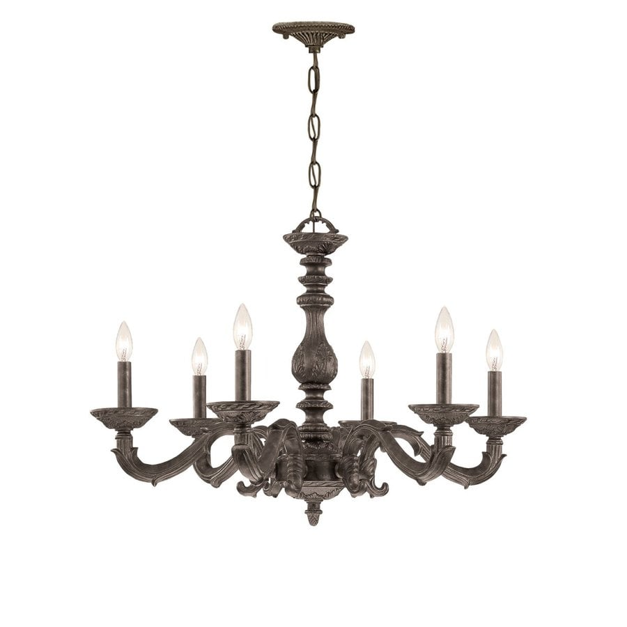 Venetian Bronze Chandelier: Cascadia Lighting Paris Market 6-Light Venetian Bronze