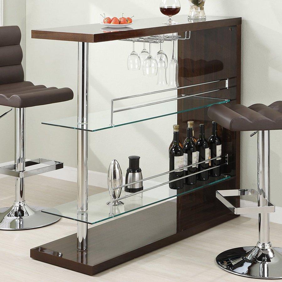 Shop Coaster Fine Furniture 47 25 In X 43 5 In Mini Bar At