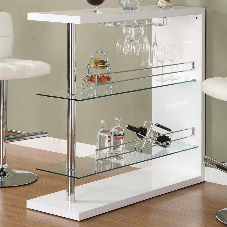 Coaster Fine Furniture 47.25-in x 43.5-in Mini Bar