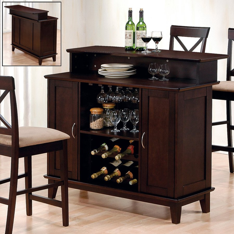 Shop Coaster Fine Furniture Mix And Match 47 In X 42 In Rectangle Cabinet Bar At