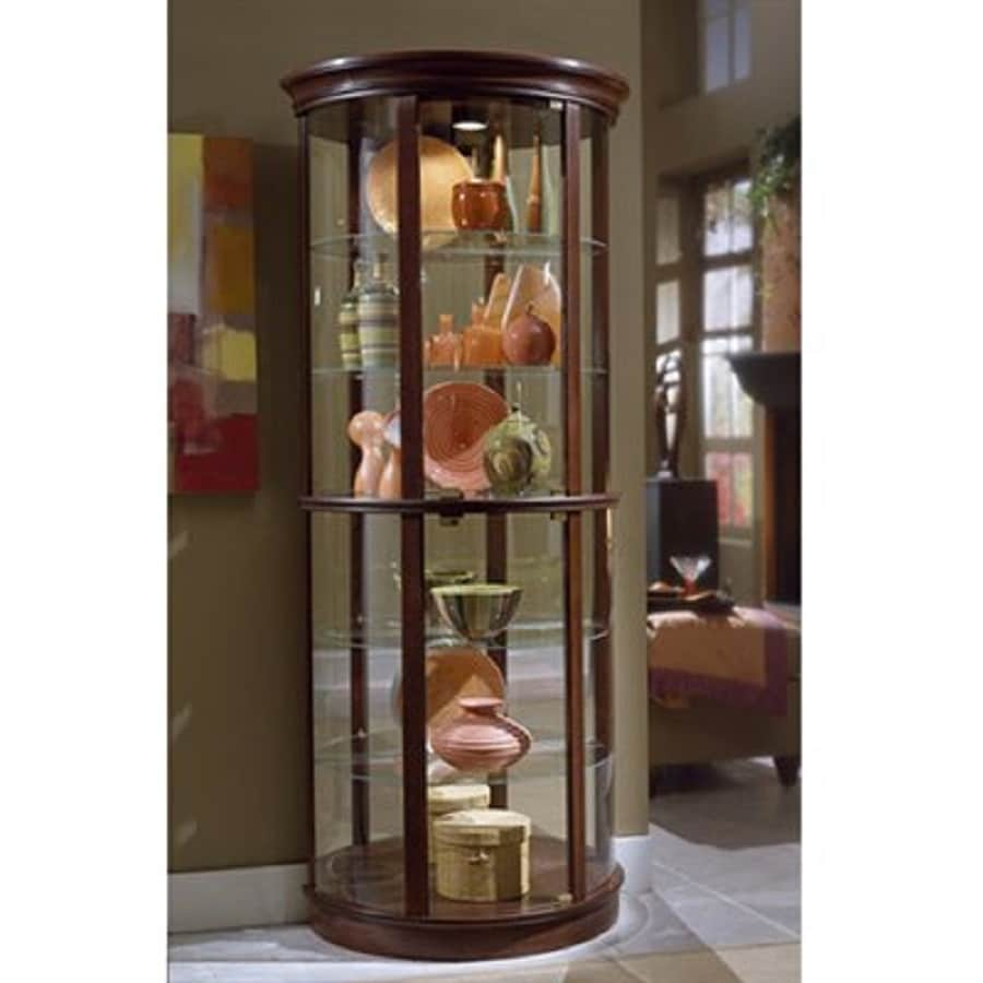 Awesome Pulaski Preference Wood Curio Cabinet