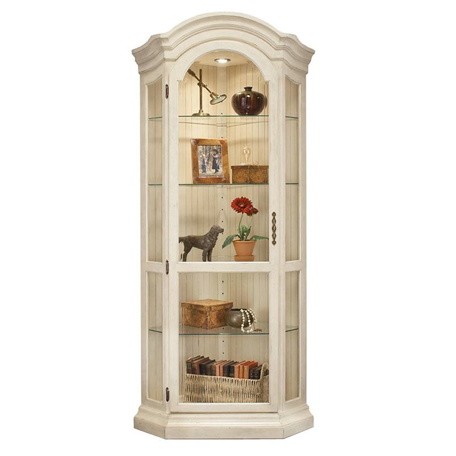 Shop philip reinisch company colortime sandshell white for Curio cabinet