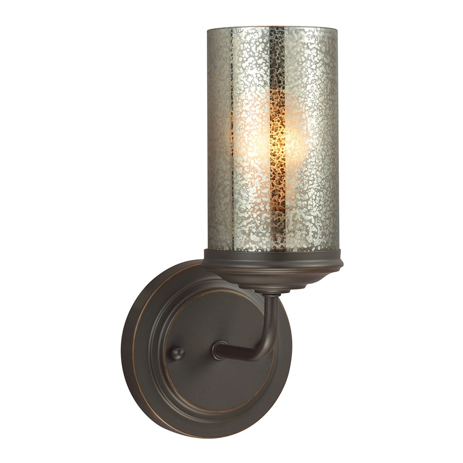 Sea Gull Lighting Sfera 1-Light Autumn Bronze Cylinder Vanity Light