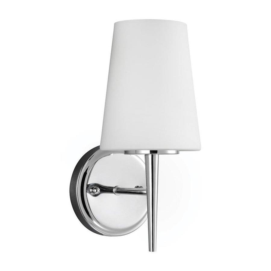 Sea Gull Lighting Driscoll 1-Light Chrome Vanity Light
