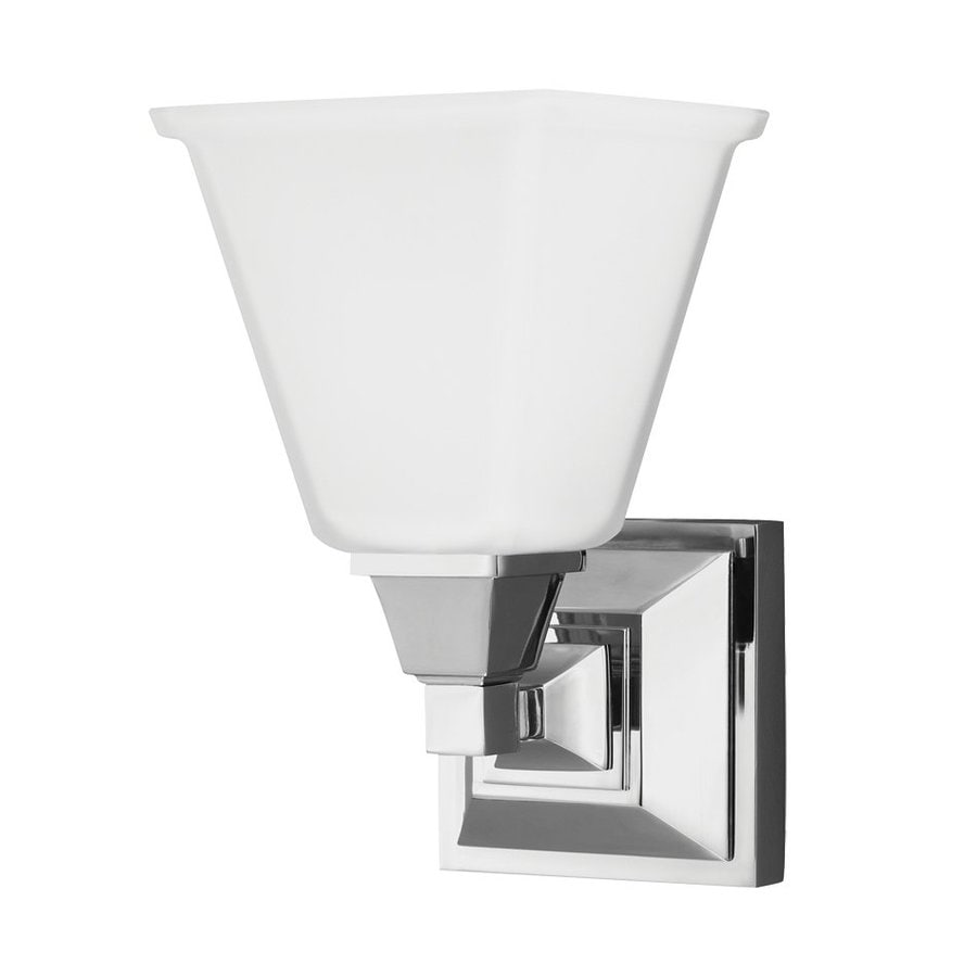 Sea Gull Lighting Denhelm 1-Light Chrome Vanity Light