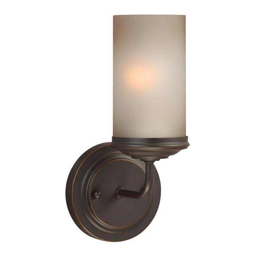 Sea Gull Lighting Sfera 1-Light Autumn Bronze Vanity Light