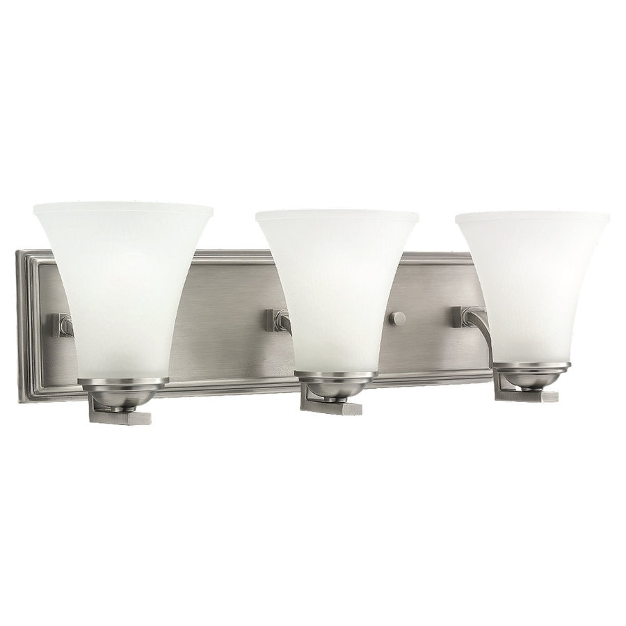 Sea Gull Lighting Somerton 3-Light Antique Brushed Nickel Vanity Light