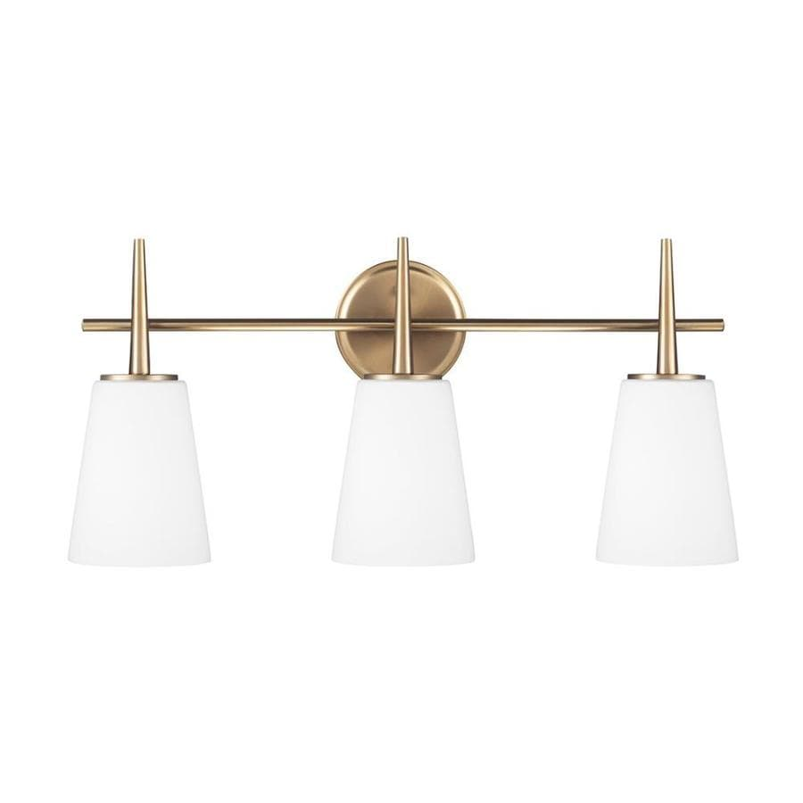 Sea Gull Lighting Driscoll 3-Light Satin Bronze Vanity Light