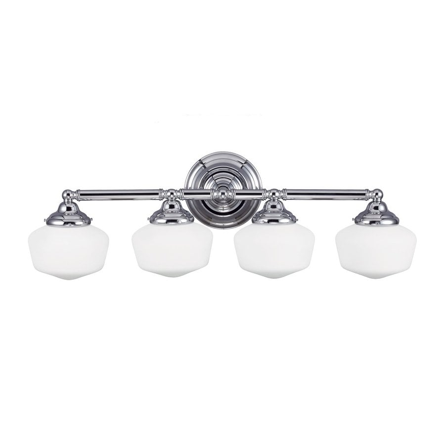 Sea Gull Lighting Academy 4-Light Chrome Vanity Light