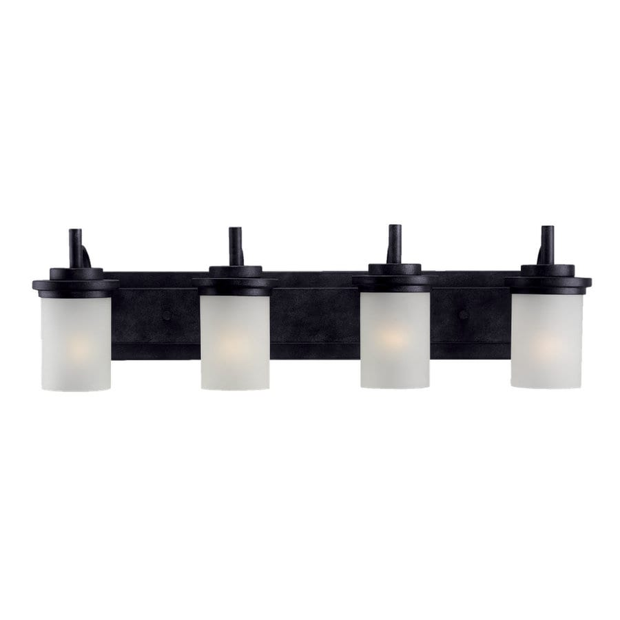 Sea Gull Lighting Winnetka 4-Light Blacksmith Vanity Light
