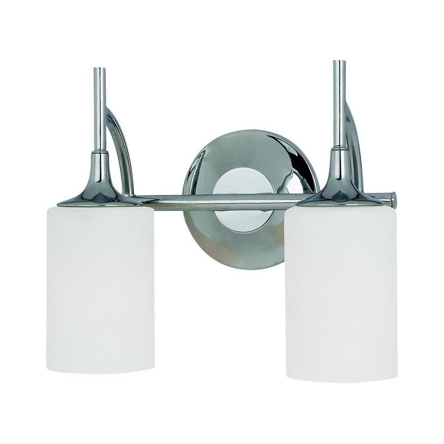 Sea Gull Lighting Stirling 2-Light Chrome Vanity Light