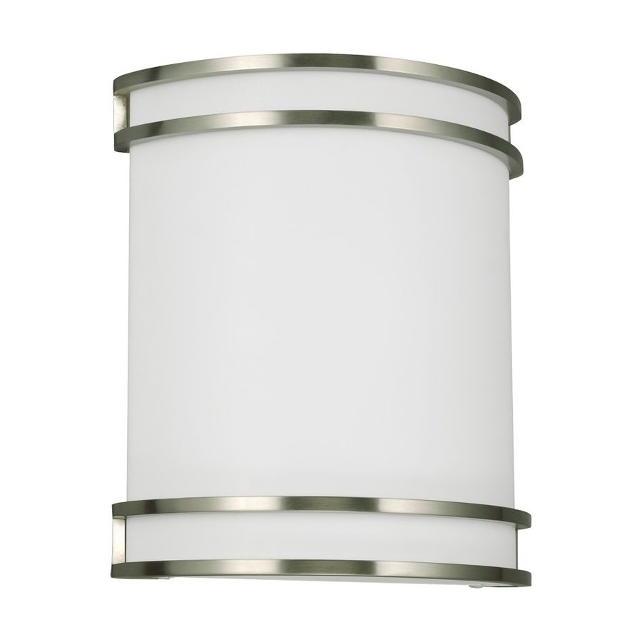 Sea Gull Lighting 1-Light Brushed Nickel Vanity Light