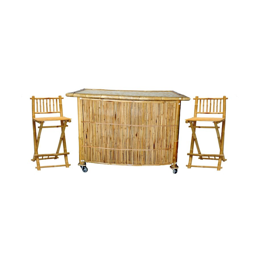 Shop Bamboo 54 Bamboo Patio Bar At