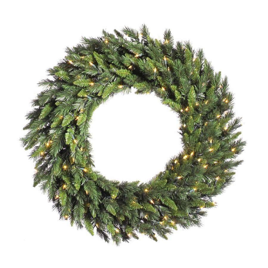 Vickerman 36-in Un-Lit Imperial Pine Artificial Christmas Wreath