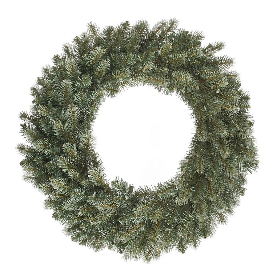 Vickerman 30-in Un-Lit Colorado Spruce Artificial Christmas Wreath