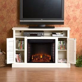 fireplaces at lowes com rh lowes com chimneyfree rolling mantel fireplace reviews chimneyfree rolling mantel fireplace reviews