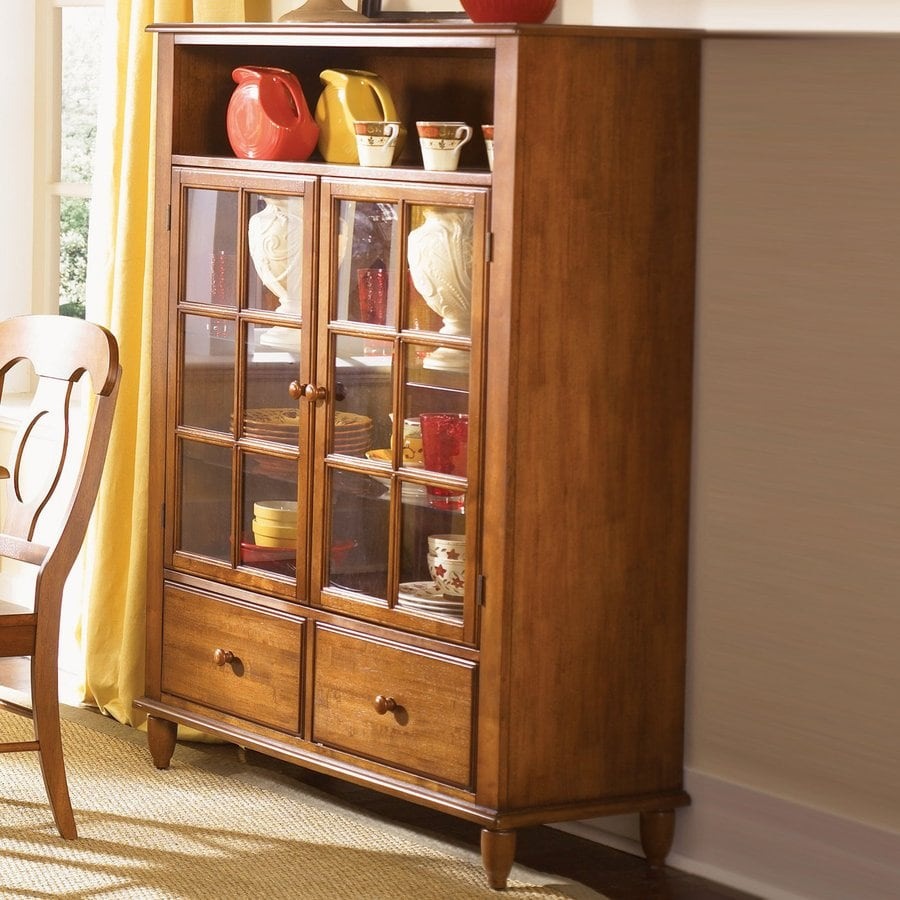 Liberty Furniture Low Country Suntan Bronze Curio Cabinet