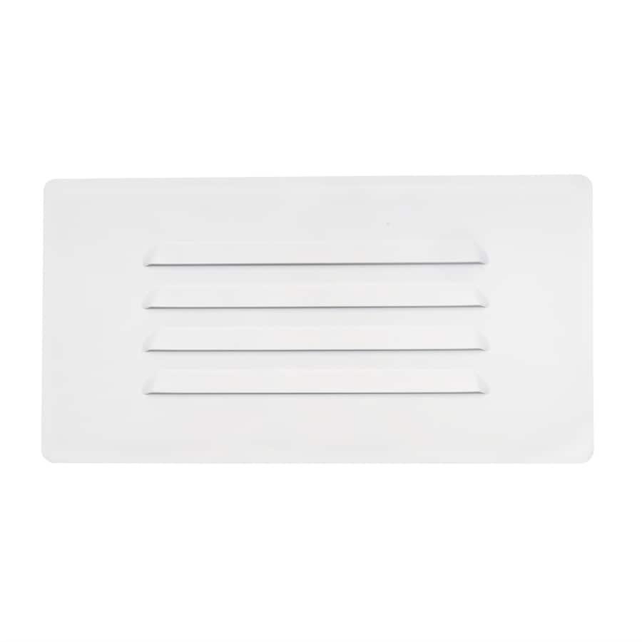 Nicor Lighting 40-Watt White Line Voltage Incandescent Step Light