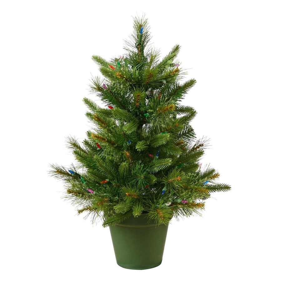 Shop Vickerman 2 Ft 76 Count Artificial Christmas Tree At