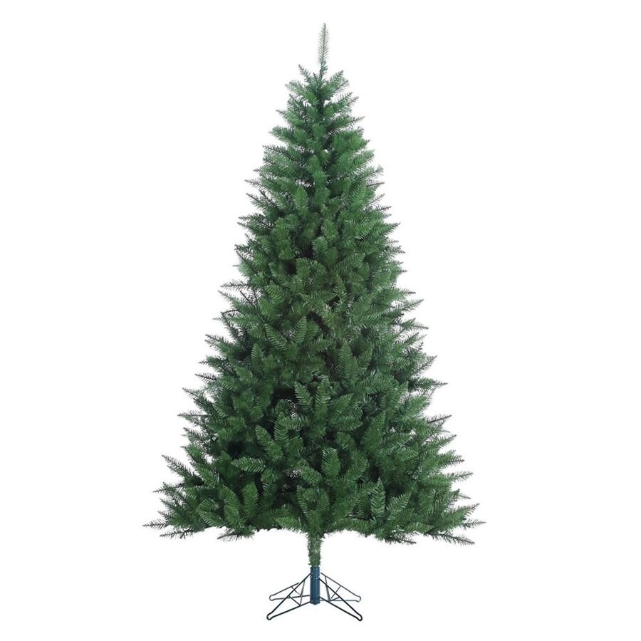 7 Ft Christmas Tree: Vickerman 7.5-ft Lincoln Fir Artificial Christmas Tree At