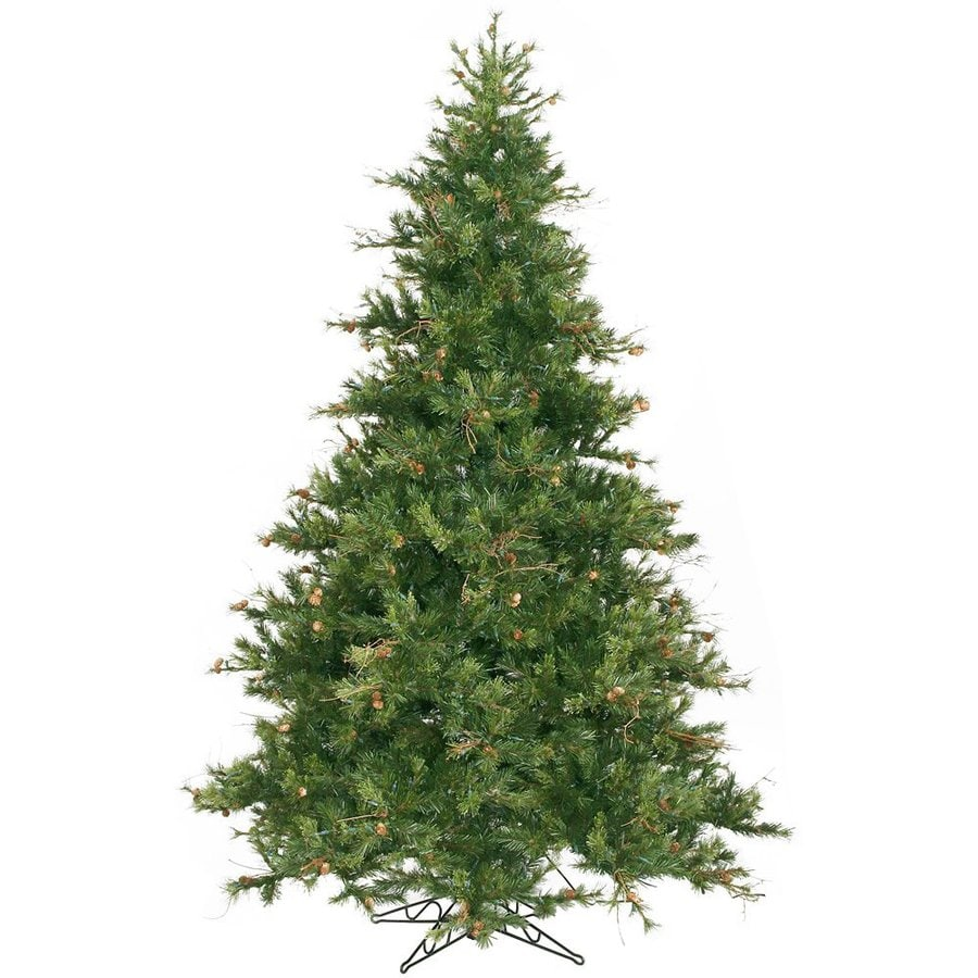 vickerman 9 ft unlit pine artificial christmas tree