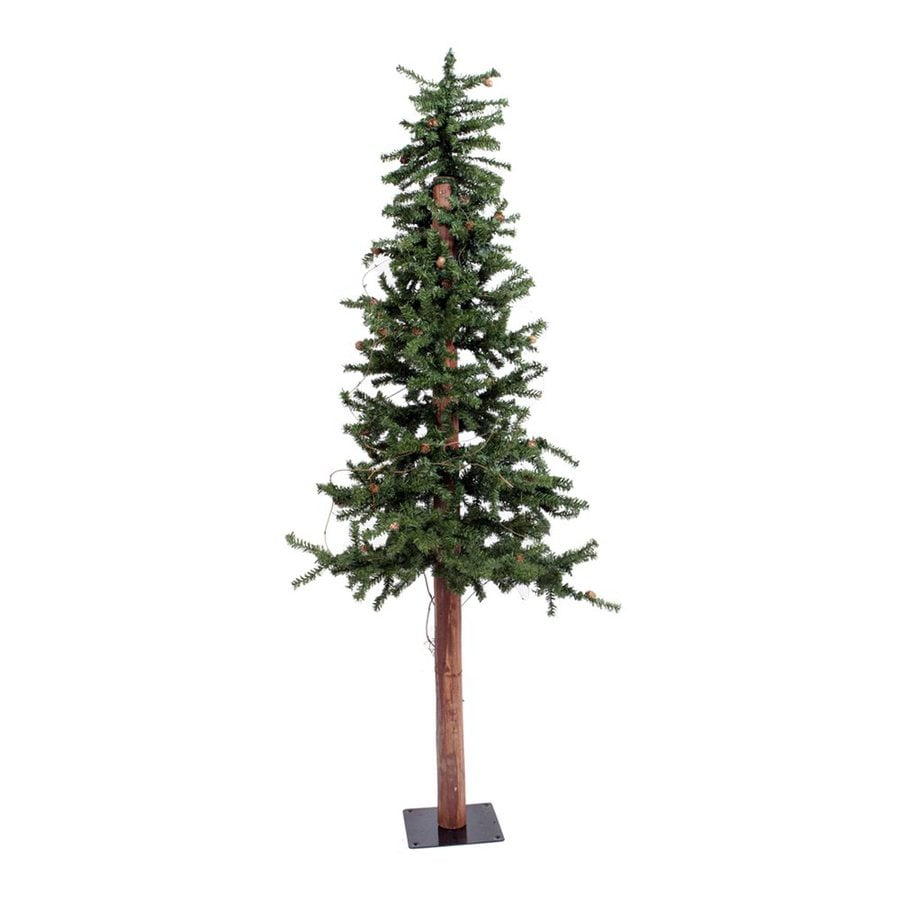 Vickerman 4-ft 351-Count Alpine Slim Artificial Christmas Tree