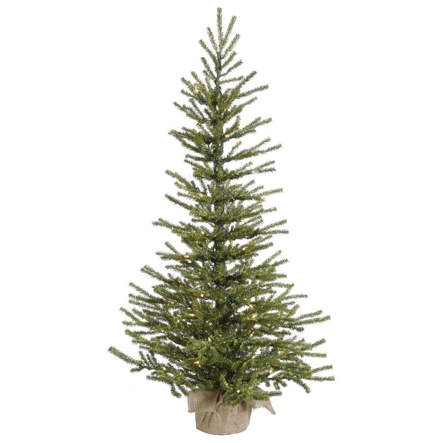 vickerman 35 ft pre lit slim artificial christmas tree with white clear incandescent lights - 75 Ft Slim Christmas Tree