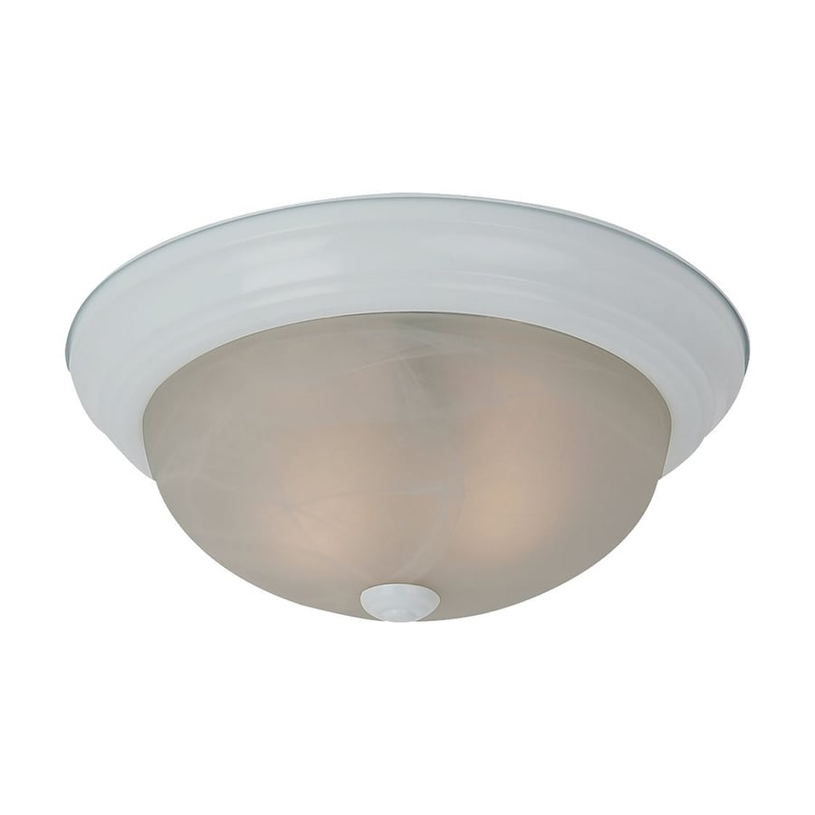 Sea Gull Lighting Windgate White Ceiling Fluorescent Light ENERGY STAR (Actual: 1-ft 1-in)