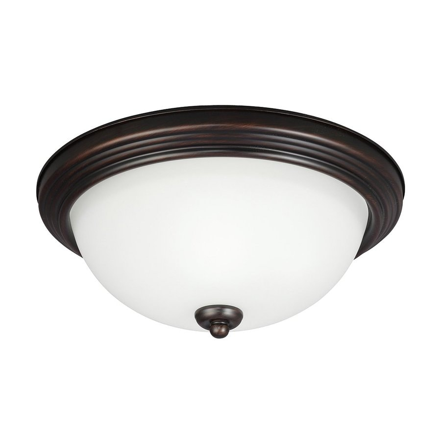 Sea Gull Lighting Burnt Sienna Ceiling Fluorescent Light ENERGY STAR (Actual: 0-ft 11.5-in)