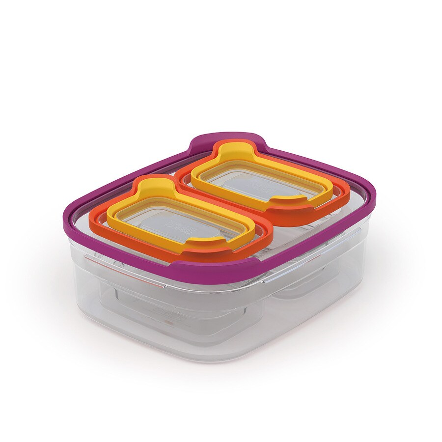 Joseph Joseph 5-Piece Plastic Food Storage Container