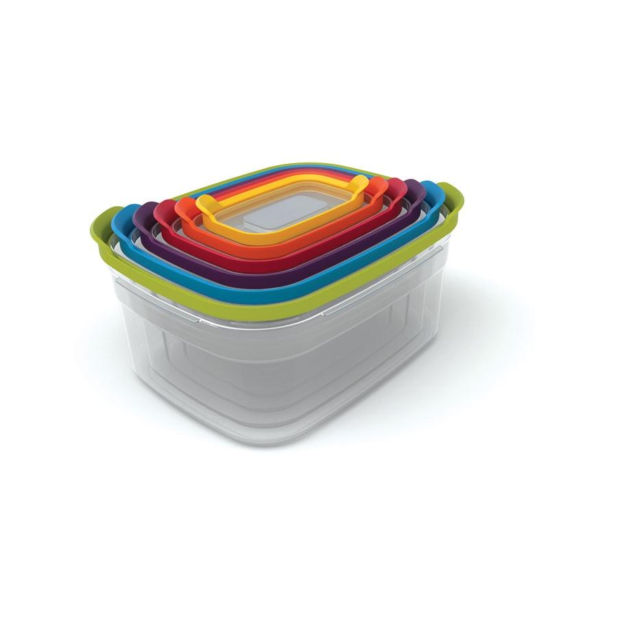 Joseph Joseph 6-Piece Plastic Food Storage Container