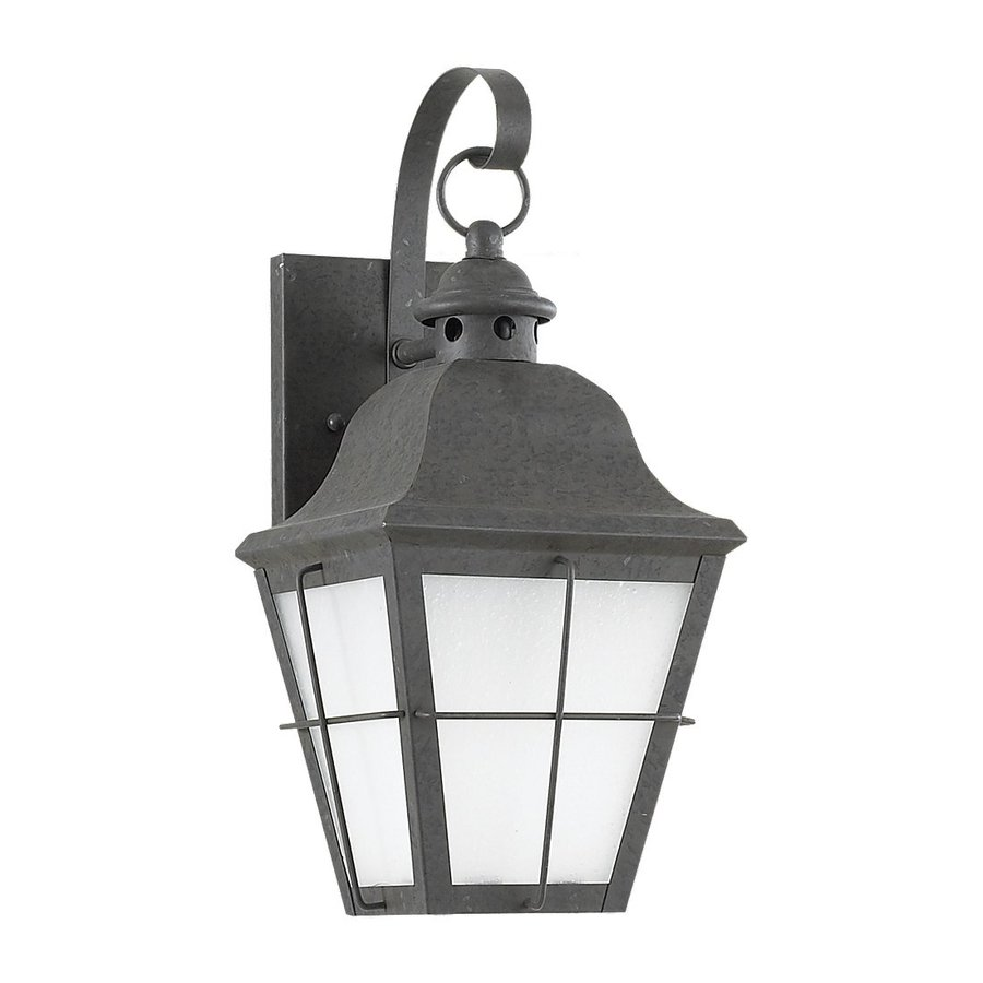 Sea Gull Lighting Chatham 14.5-in H Oxidized Bronze Outdoor Wall Light ENERGY STAR